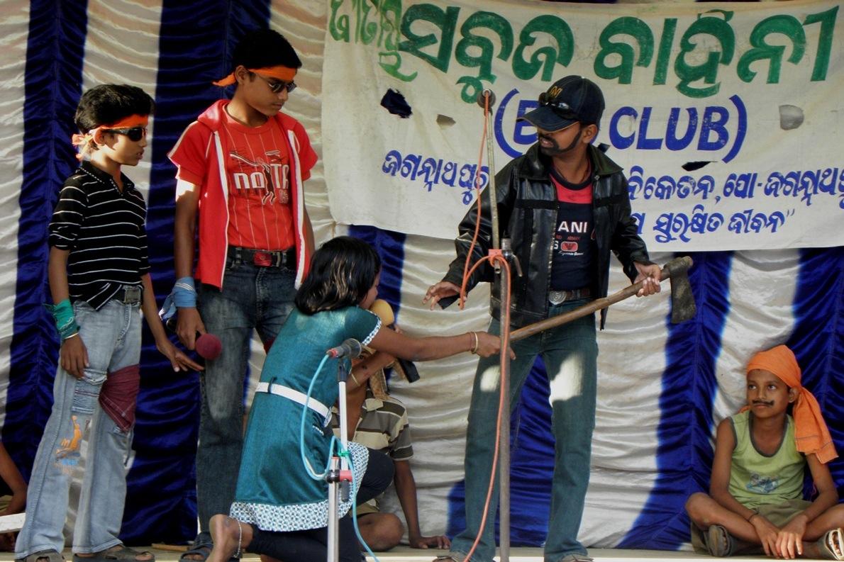 Eco-Club Drama on illegal logging